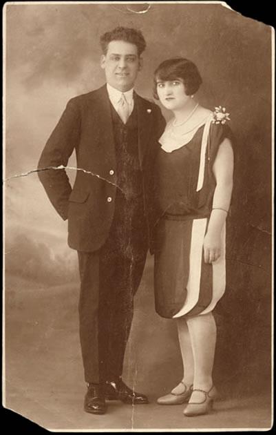 Un couple à la mode