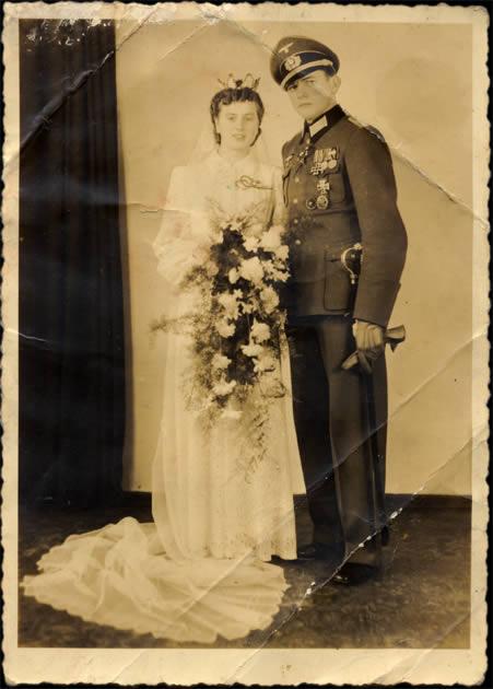 Officier Allemand marié