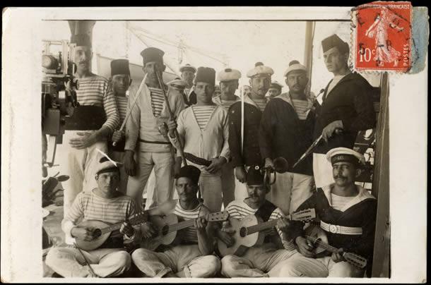 Marins de l'Ernest Renan