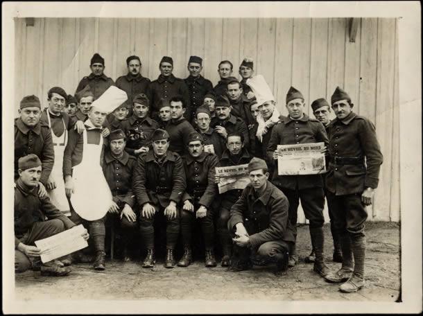 Soldats français en 1938