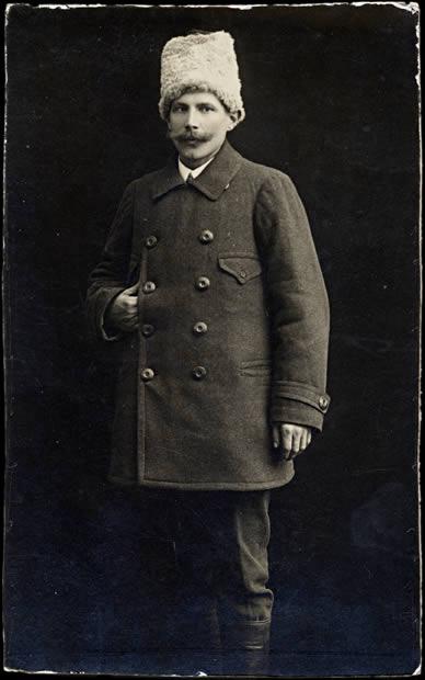 Prisonnier polonais en 1915