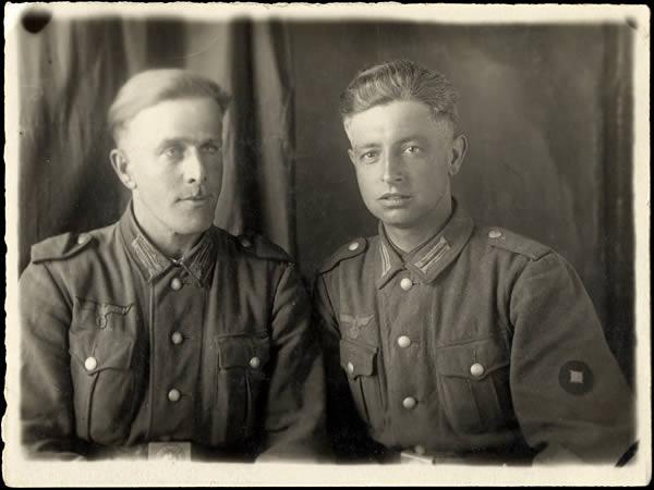 Deux soldats Allemands
