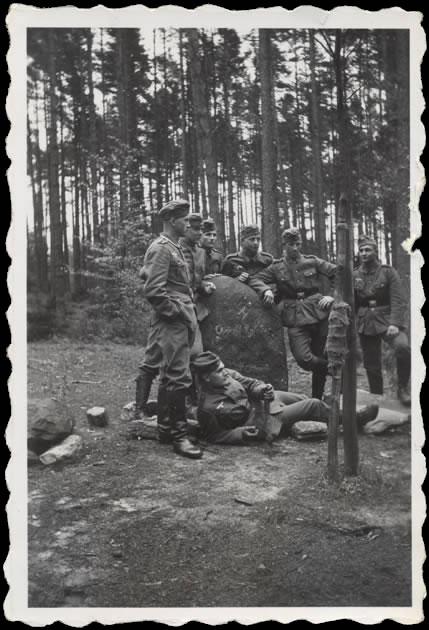 Soldats Allemands seconde guerre